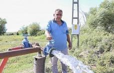 Büyükşehir bir dokunuşla, bin dönüm arazinin sulanmasını sağladı