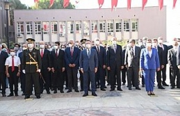 Aydın'da, 30 Ağustos Zafer Bayramı kutlandı