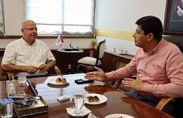 Sendika Başkanı Yaman'dan Başkan Özcan'a 'teşekkür' ziyareti