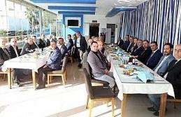 Başkan Güler, muhtarlarla bir araya geldi