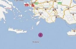 Deprem Aydın'da da hissedildi