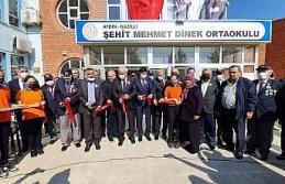 Şehit Mehmet Dinek'in ismi mezun olduğu okula verildi