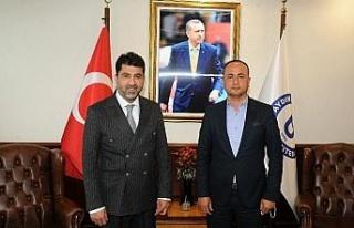 Aydın Basın Kartları Sorumlusu Erdal Şener ADÜ...