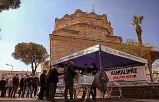Aydın Büyükşehir Belediyesi Berat Kandili'nde...
