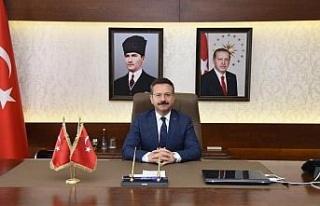 Aydın Valisi Hüseyin Aksoy'un '12 Mart' mesajı