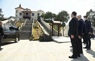 Bakan Yardımcısı Erdil, Adnan Menderes Müzesi'nde...
