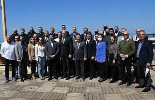 Başkan Günel KUGİAD'ın Olağan Genel Kurul toplantısına...