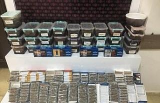 Didim'de 25 kilogram kaçak tütün ele geçirildi