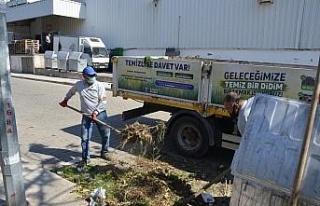 Didim'de temizlik çalışması pilot mahallelerde...