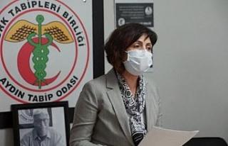 """Aydın Tabip Odası Başkanı Dr. Çıbık; """"Pandemi..."""