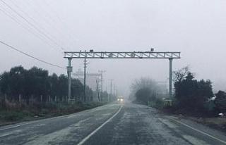 Aydın'da sabah saatlerinde sis etkili oldu