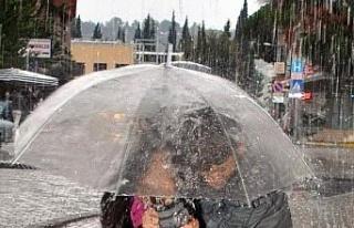 Aydın'da yeni hafta yağışlı geçecek
