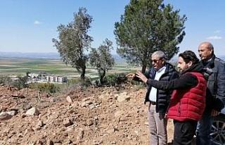 Başkan Kaplan yapımı devam eden projeleri yerinde...