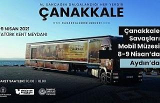 Çanakkale Savaşları Mobil Müzesi Aydın'a geliyor