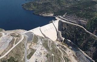 Çine Adnan Menderes Barajı'ndan milli ekonomiye...