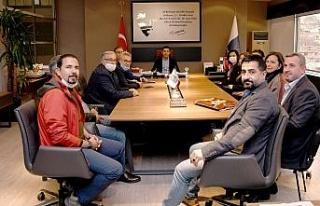 İmece-Der kurucuları Başkan Günel ile görüştü