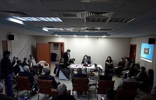 Karacasu'da AK Parti ve CHP'li Meclis üyeleri...
