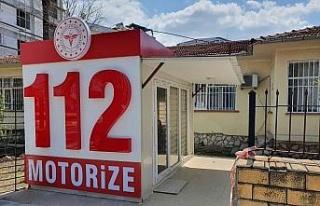Kuşadası'nda yeni 112 istasyonu ve motorize ekip...
