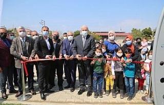 Ovaeymir çocuk parkı açıldı