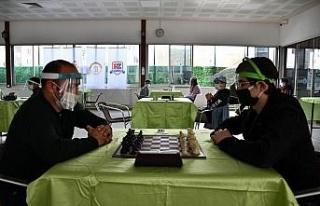 Pandemi döneminin ilk yüz yüze satranç turnuvası...