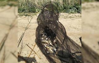 Söke'de iç sularda yasak balık avı denetimleri...