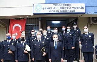 Vali Aksoy'dan Şehit Ali Rüştü Yetkin Polis...