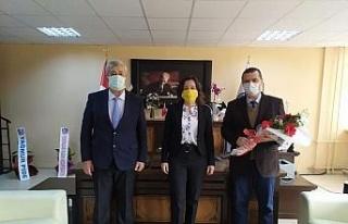 Yenipazar MYO'da devir teslim töreni gerçekleşti