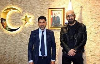 Yönetmen Onur Tan, ADÜ Rektörü Aldemir ile görüştü