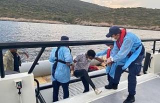 Aydın'da 19 düzensiz göçmen kurtarıldı