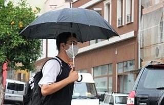 Aydın'da yağışlı hava etkili olacak