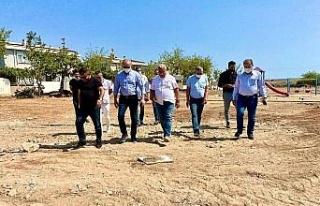 Başkan Atabay, çalışmaları yerinde inceledi