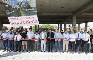 Başkan Atabay, Küçük Sanayi Sitesi temel atma...