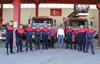 Başkan Özcan İtfaiye Haftası'nı kutladı
