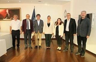 CHP heyeti Başkan Çerçioğlu ile görüştü