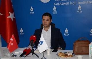 İlçe Başkanı Alp, evinin siyasi gerekçelerle...
