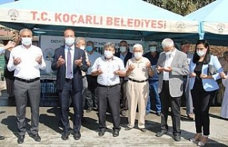 Koçarlı Belediyesi Merhum Menderes için hayır...
