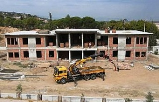Koçarlı'da yeni jandarma binası yükseliyor