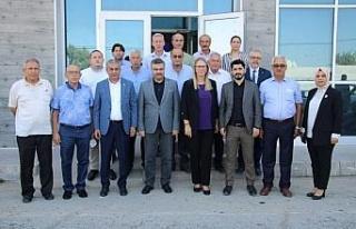 Milletvekili Çankırı'dan Başkan Kaplan'a hizmet...