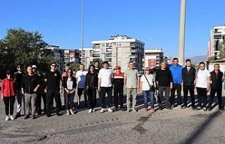 Nazilli'de Avrupa Hareketlilik Haftası kapsamında...