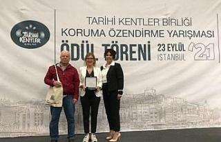 """TKB'den Kuşadası Belediyesi'ne """"Başarı""""..."""