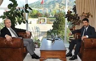 Aydın Cumhuriyet Başsavcısı Eker, ADÜ Rektörü...