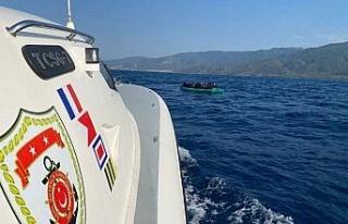 Aydın'da 26 düzensiz göçmen kurtarıldı