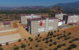 Aydın'da 2 bin 392 kişilik kız öğrenci yurdu...