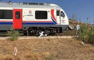 Aydın'da talihsiz kaza, yaşlı kadın trenin altında...