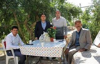 Başkan Özcan'dan 96'lık çınarı yalnız bırakmadı
