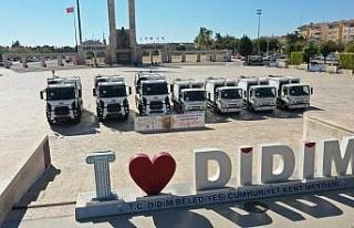 Didim Belediyesi araç filosunu güçlendirdi