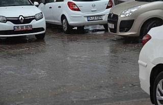 Didim'de yağmur sevinci