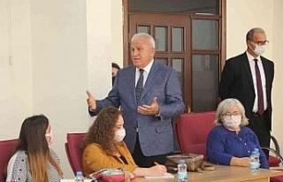 Efeler Belediye Başkanı Atay, ADÜ'lü öğrencileri...