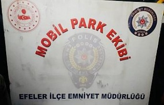 Mobil Park Ekibi uyuşturucuya geçit vermedi