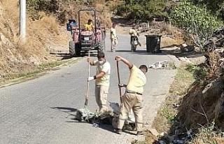 Nazilli Belediyesi ekipleri daha temiz Nazilli için...